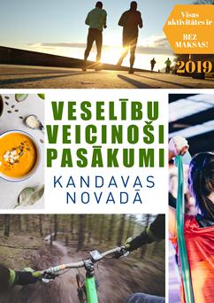 Veselību veiconošie pasākumi Kandavas novadā