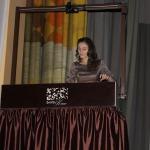 """Neaizmirstamus mirkļus klātesošajiem sagādāja māksliniece Guna Zandere ar """"Smilšu kino""""."""