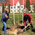 Latvijas simtgades ozola stādīšana Vānē