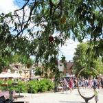 Novada svētku otrā diena Kandavas Promenādē