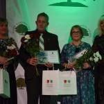 """Nominācijā """"Radošākais novadnieks"""" startēja trīs pretendenti: (no kreisās) Aiva Valdmane, Guntis Gulbis un Dagnija Gudriķe"""
