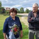 """""""Jaunarāju"""" saimnieki Zigrīda un Leons Trusovi"""