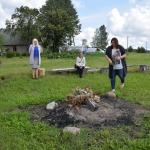 Saulgriežu ugunskurs senlatviešu tradīcijās
