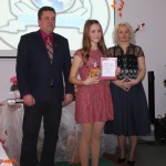 Titula Gada jaunietis 2015 pretendente vecuma grupā 13-15 gadi- Agnese Besikirska