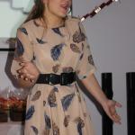 Muzikālu priekšnesumu sniedza pagājušā gada Gada jaunieša titula ieguvēja Paula Saija no  Cēres.