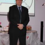Jauniešus uzrunā žūrijas komisijas loceklis,Vānes pamatskolas direktors Ivars Lasis
