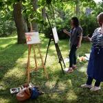 Gleznotāji darbībā