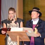 Apsveikums Kandavas novada ļaudīm- Lietuvas Šilales pilsētas mērs Jonas Gudauskas