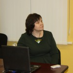 Jolanta Borīte- Latvijas simtgades biroja reģionālo un nevalstisko organizāciju projekta vadītāja