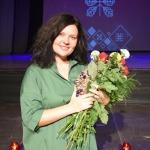 """""""Kandavas novada pateicība"""" Baibai Rullei par ieguldījumu Kandavas atpazīstamības veidošanā Latvijā un starptautiskā mērogā"""