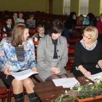 Žūrija vērtēšanai gatava: ( no kreisās) Guna Ošeniece, Ziedīte Začeste, Dagnija Gudriķe