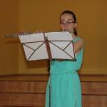 Muzikālu priekšnesumu bija sagatavojusi Anastasija Balkovska