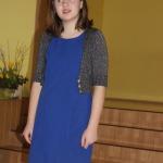 Vānes pamatskolas 6.klases skolniece Jevgenija Stumbre