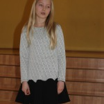 Zantes pamatskolas 4.klases skolniece Madara Krūmiņa