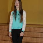 Zemītes pamatskolas 8.klases skolniece Marika Ozolniece