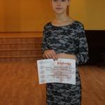 Lote Loreta Makovska ieguva 1.vietu 7.-9.klašu grupā