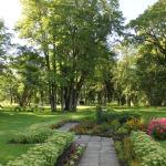 Skaisti iekoptais parks pie Cēres pamatskolas