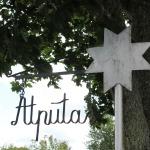 """Cēres pagasta sēta """"Atpūtas"""", kurā saimnieko Zenta Grenevica"""