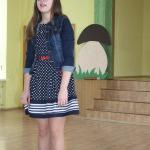Vānes pamatskolas 7.klases skolniece Monta Bērziņa