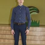 Kandavas K.Mīlenbaha vidusskolas 11.klases audzēknis Kristaps Kristers Ozols ieguva 3.vietu 10.-12.klašu grupā un žūrijas Simpātiju balvu