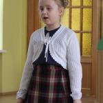 Vānes pamatskolas 3.klases skolniece Amanda Bērziņa ieguva 3.vietu 2.-3.klašu grupā