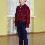 Zemītes pamatskolas 3.klases skolēns Miks Frančenko