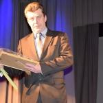 Ilggadējs sporta atbalstītājs Ivars Marašinskis saņēma pateicību