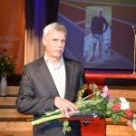 """Nominācijā """"Labākais treneris"""" galveno balvu ieguva sporta skolas direktors un treneris vieglatlētikā Indulis Matīss"""