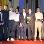 """Pateicību nominācijā """"Labākā komanda"""" saņēma basketbola komanda Kandava/COMPOR"""