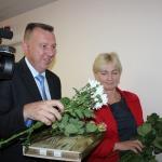 Ēriks Lukmans, Tukuma novada domes priekšsēdētājs un Ligita Gintere, Jaunpils novada domes priekšsēdētāja
