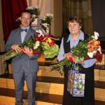 Kandavas novada Pateicība( no labās) Veronikai Ragauskai un Reinim Štofertam