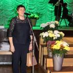 Pasākuma dalībniekus sveica Latvijas Zemnieku federācijas valdes priekšsēdētāja Agita Hauka
