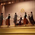 Koncerta ievadā pavasari iedejoja visi četri Zantes deju kolektīvi
