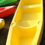 Kanoe laiva 5 cilvēkiem, celtspēja 500 kg